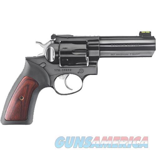 "Talo Gp100 .357Mag 4.20"" Adj. High Polished Blue 7-Shot Talo RUG 1776  Guns > Pistols > TU Misc Pistols"