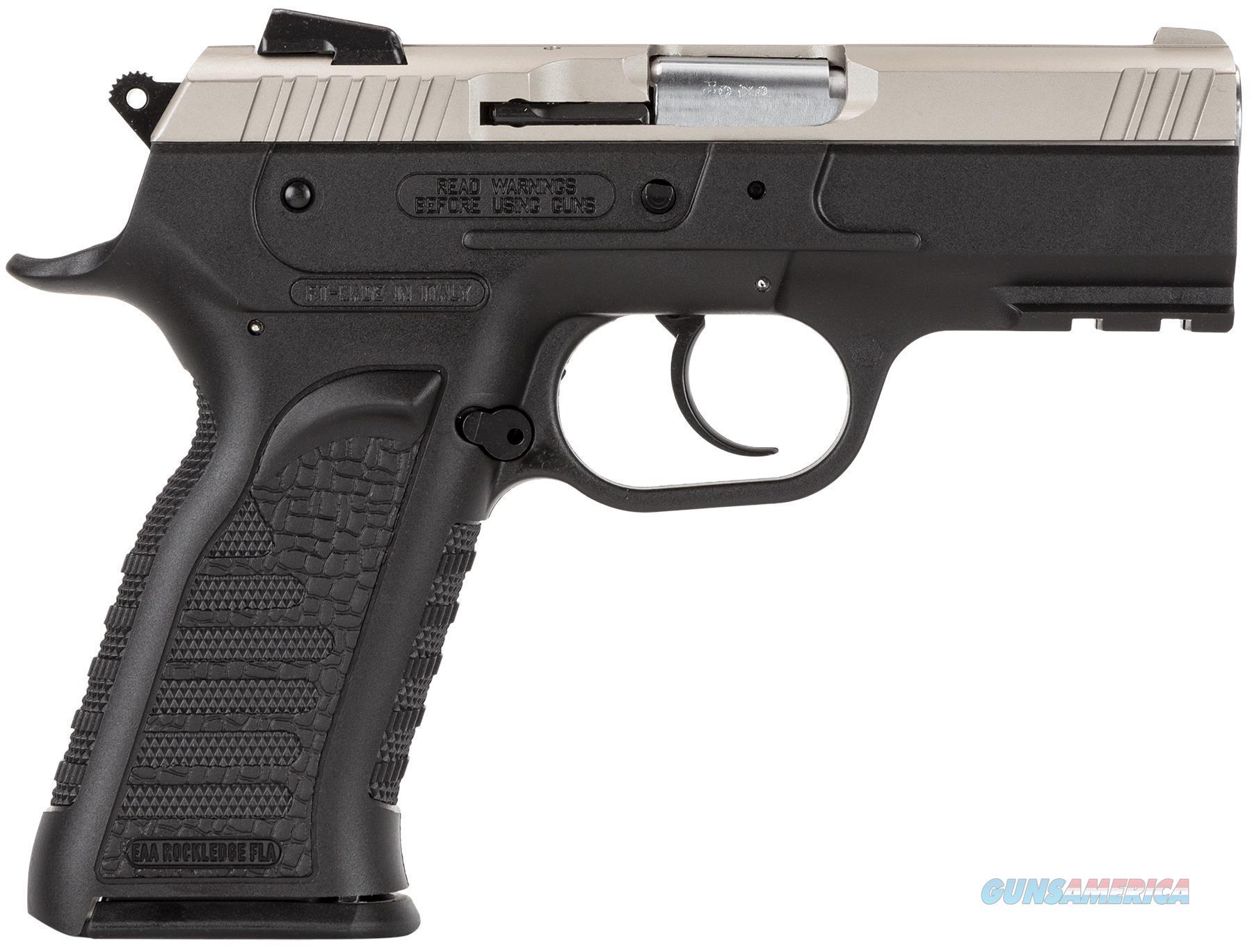 "Eaa 600245 Witness Polymer Carry Da/Sa 45Acp 3.6"" 10+1 Blk Syn Grip Ss 600245  Guns > Pistols > E Misc Pistols"