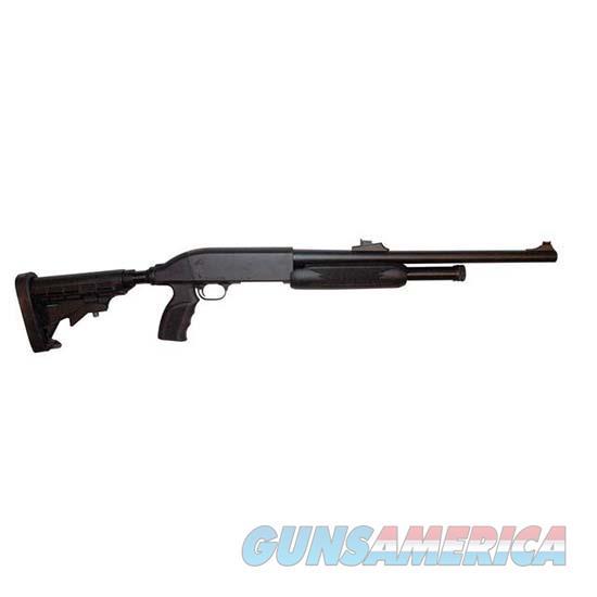 Ithica M37 Defense 12Ga 18 Rs Adj Stk Breacher 5Rd TD1218PAB  Guns > Shotguns > IJ Misc Shotguns