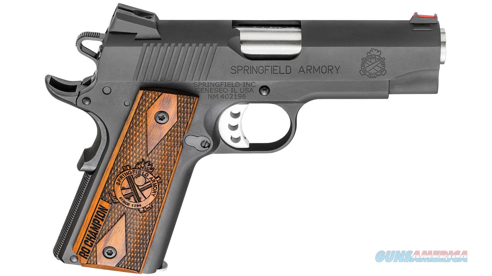Springfield Armory 1911 9Mm Blk Ltwt Champion Range Officer PI9137L  Guns > Pistols > S Misc Pistols