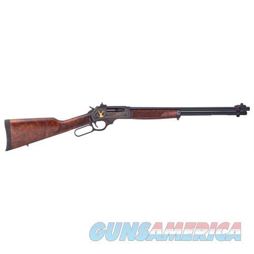 "Henry Steel Wildlife .30-30 20"" Blued Walnut Engraved H009WL  Guns > Rifles > H Misc Rifles"