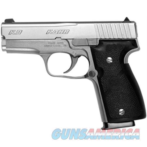 """Kahr Arms K9093 K9 Dao 9Mm 3.5"""" 7+1 Black Poly Grip Ss K9093A  Guns > Pistols > K Misc Pistols"""