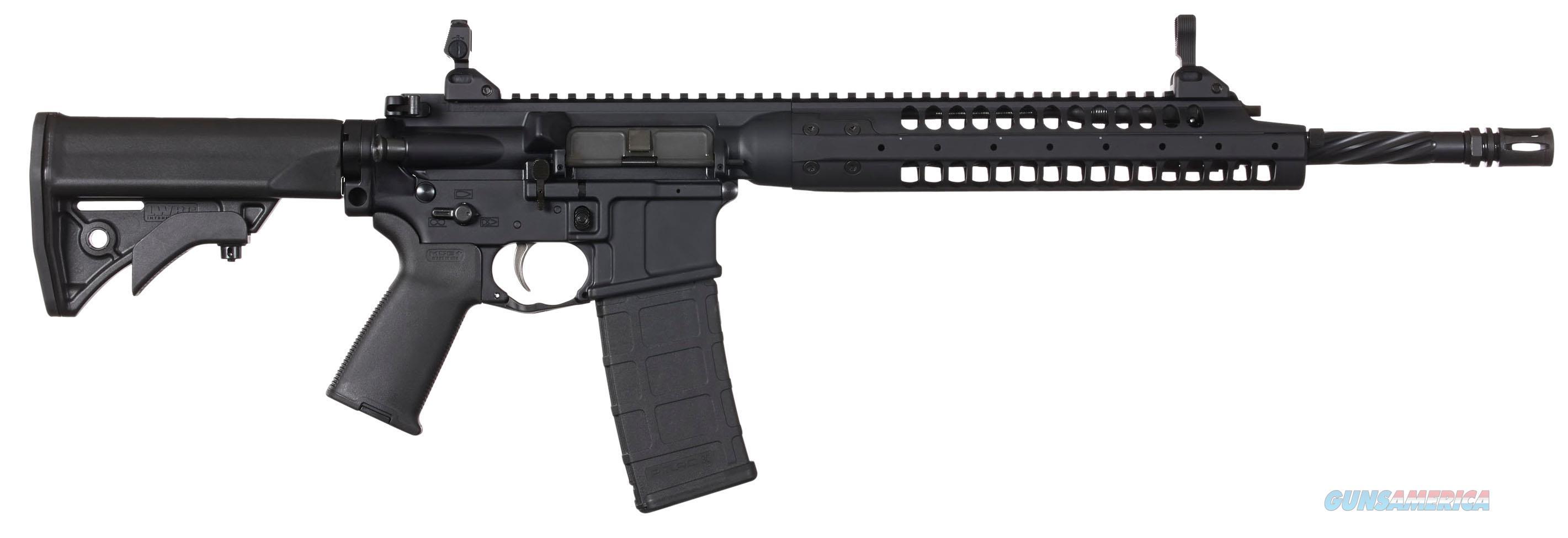 "Lwrc Ica5r5b16 Individual Carbine A5 Semi-Automatic 223 Remington/5.56 Nato 16.1"" 30+1 Adjustable Black Stk Black ICA5R5B16  Guns > Rifles > L Misc Rifles"
