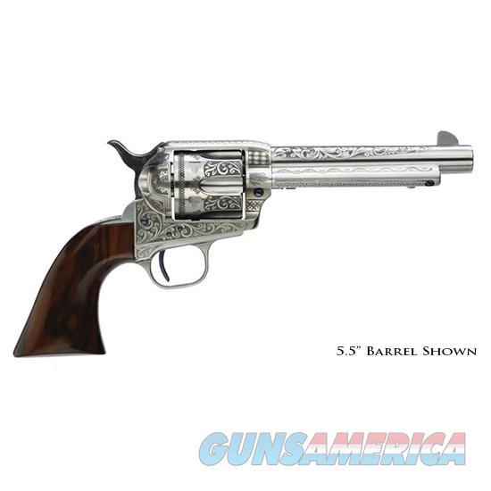 Taylor's & Co Uberti 1873 45Lc 7.5 7.5 White Photo Engrv 705AWE  Guns > Pistols > TU Misc Pistols