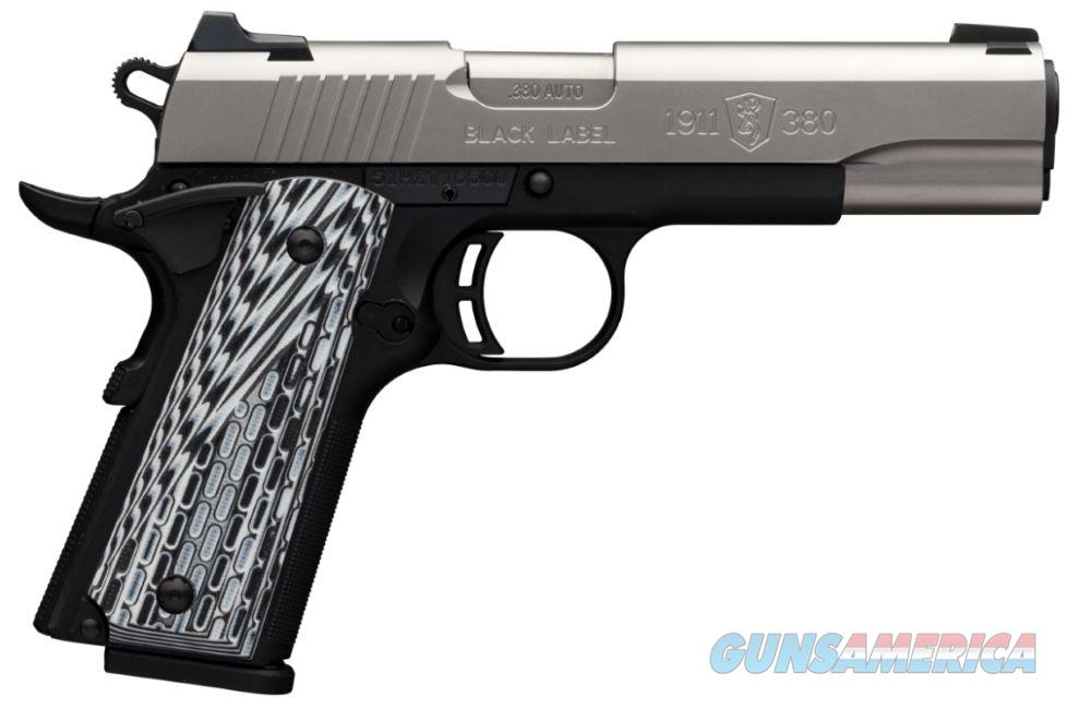 1911-380 380Acp Ss/G10 8+1 Ns 051926492  Guns > Pistols > B Misc Pistols