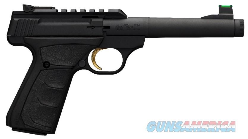 Browning Buck Mark Plus 22Lr Camper 5.5 Ufx Grip 051534490  Guns > Pistols > B Misc Pistols