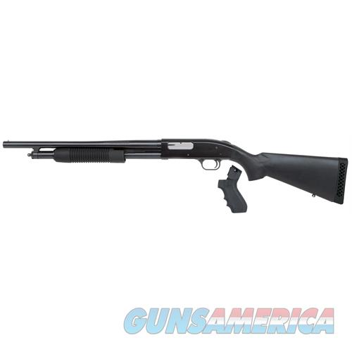 "Mossberg 59817 500 L-Series Lh Pump 12Ga 18.5"" 3"" 5+1 Black Syn Stk W/Pg Blued 59817  Guns > Shotguns > MN Misc Shotguns"