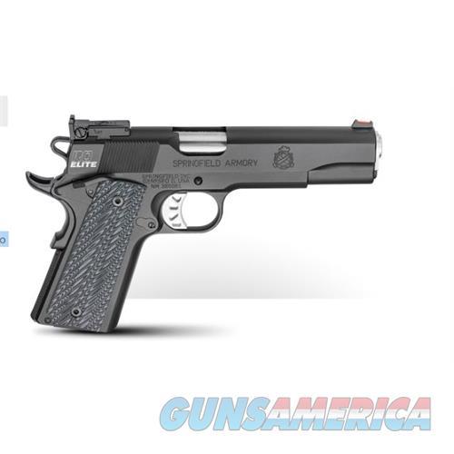 Springfield Armory 1911 Range Officer Elite 45Acp Black T PI9128E  Guns > Pistols > S Misc Pistols