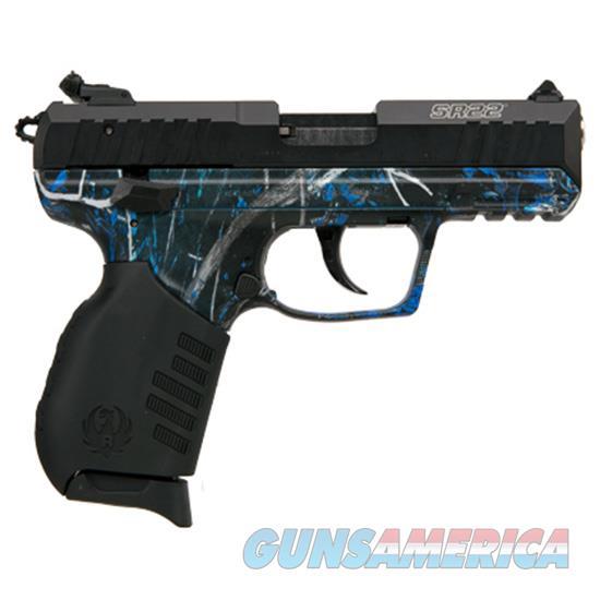 Ruger Talo Sr22p 22Lr Blued Moonshine Camo 3635  Guns > Pistols > R Misc Pistols