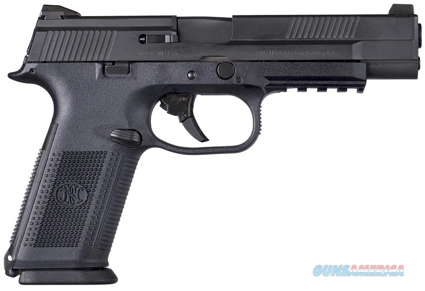 FN MANUFACTURING FNS-9L 9MM BLK 3 10RD 66710  Guns > Pistols > FNH - Fabrique Nationale (FN) Pistols > FNS