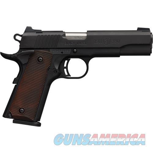 "Browning Black Label Special 1911 .380Acp Fs 4.25"" Black Matte 051940492  Guns > Pistols > B Misc Pistols"