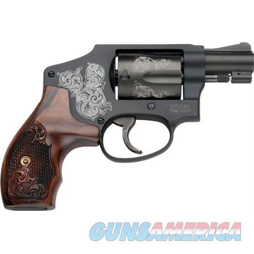 Smith & Wesson 442 38Spl Engraved 150785  Guns > Pistols > S Misc Pistols