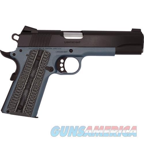 Colt L/W Government .45Acp Lt Blue Frame Blued Slide O1880XSE-BT  Guns > Pistols > C Misc Pistols