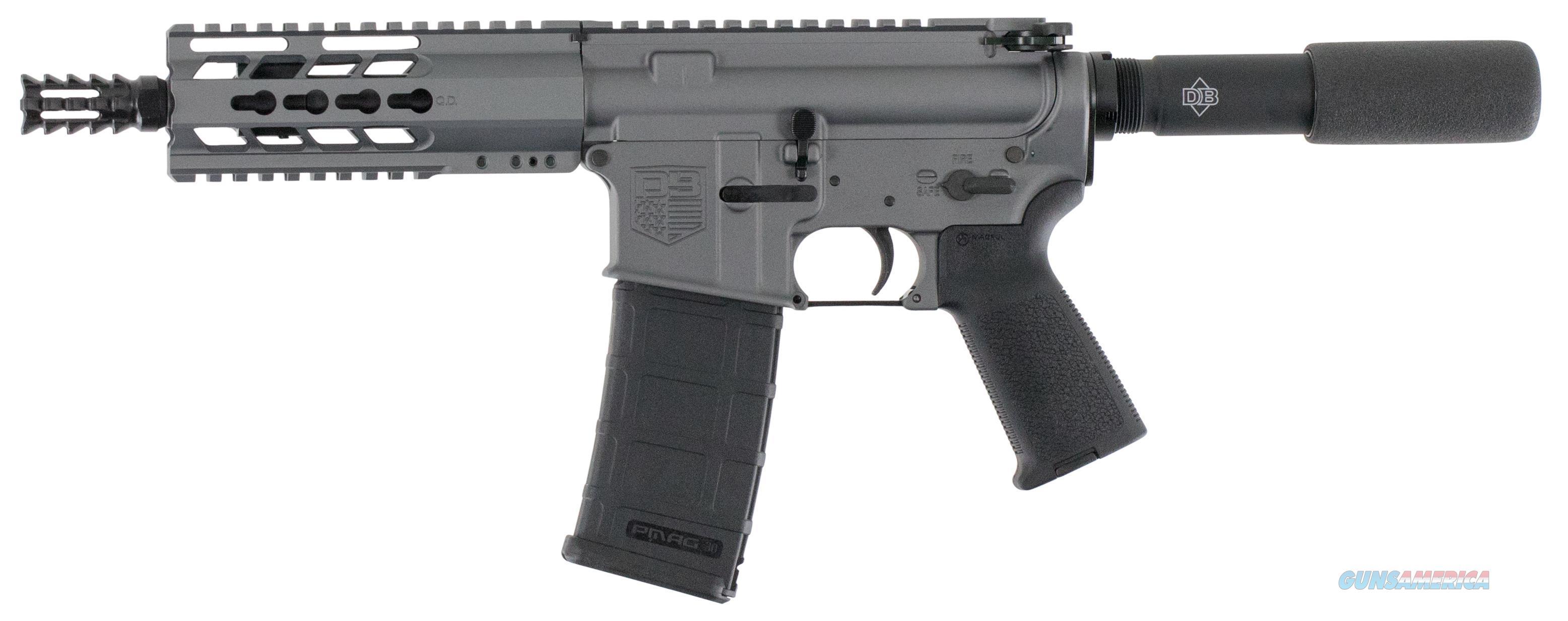 """Diamondback Firearms Pistol .223/5.56 7"""" Bbl Gray DB15PTG7  Guns > Pistols > D Misc Pistols"""