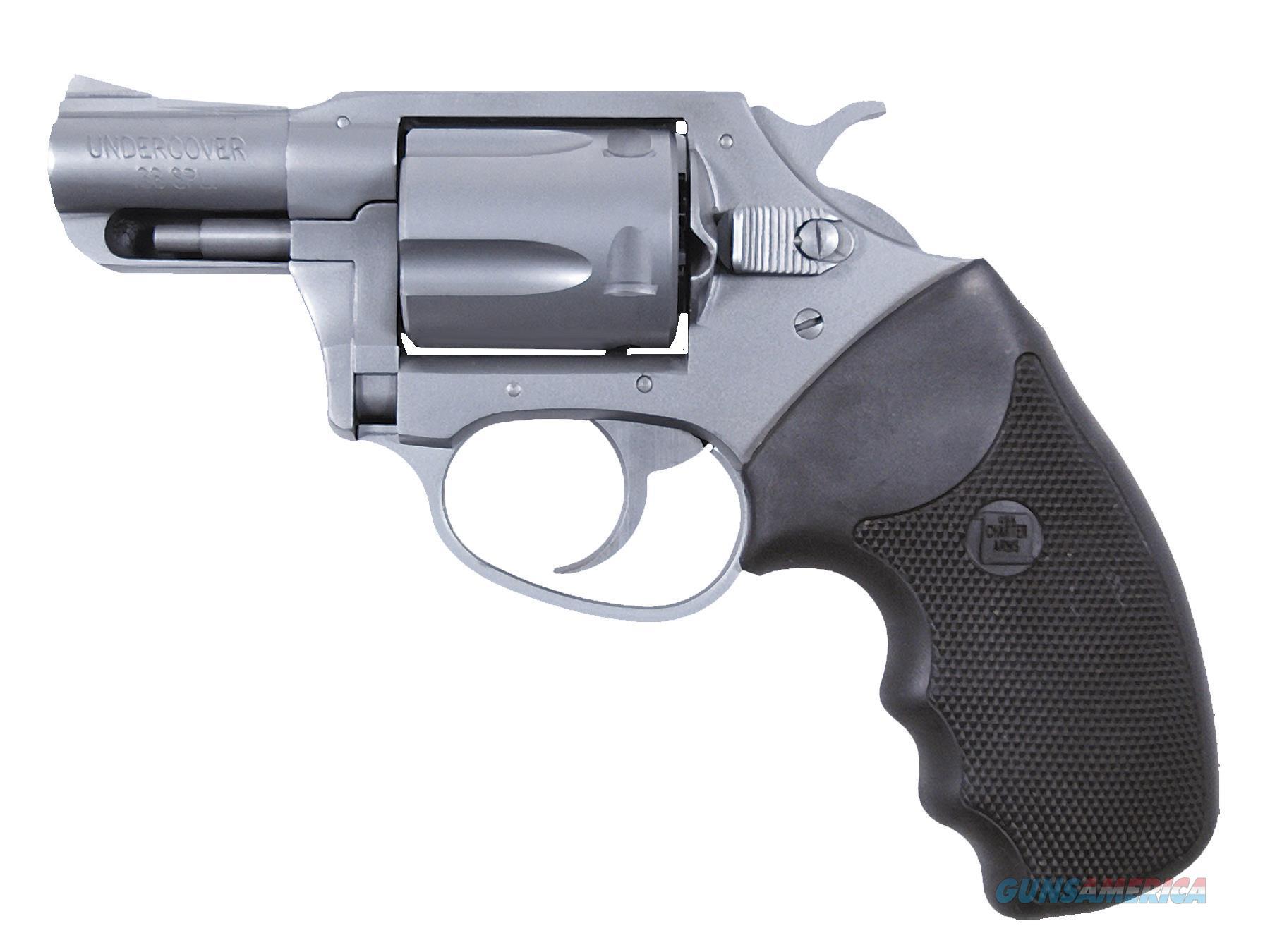 Charter Arms Undercover 38Spl 2 Ss 5Rd Crimson Trace 73824  Guns > Pistols > C Misc Pistols