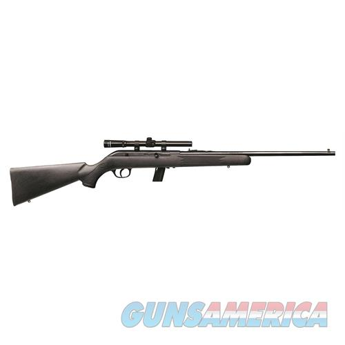 "Savage 40000 64 Fxp With Scope Semi-Automatic 22 Lr 21"" 10+1 Synthetic Black Stk Blued 40000  Guns > Rifles > S Misc Rifles"