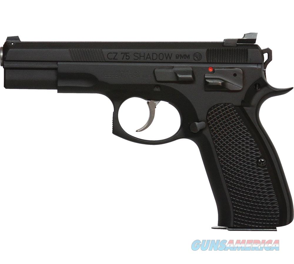 Czusa 75 Shadow Tac Ii 9Mm (3) 18Rd By Cz Custom 91762  Guns > Pistols > C Misc Pistols