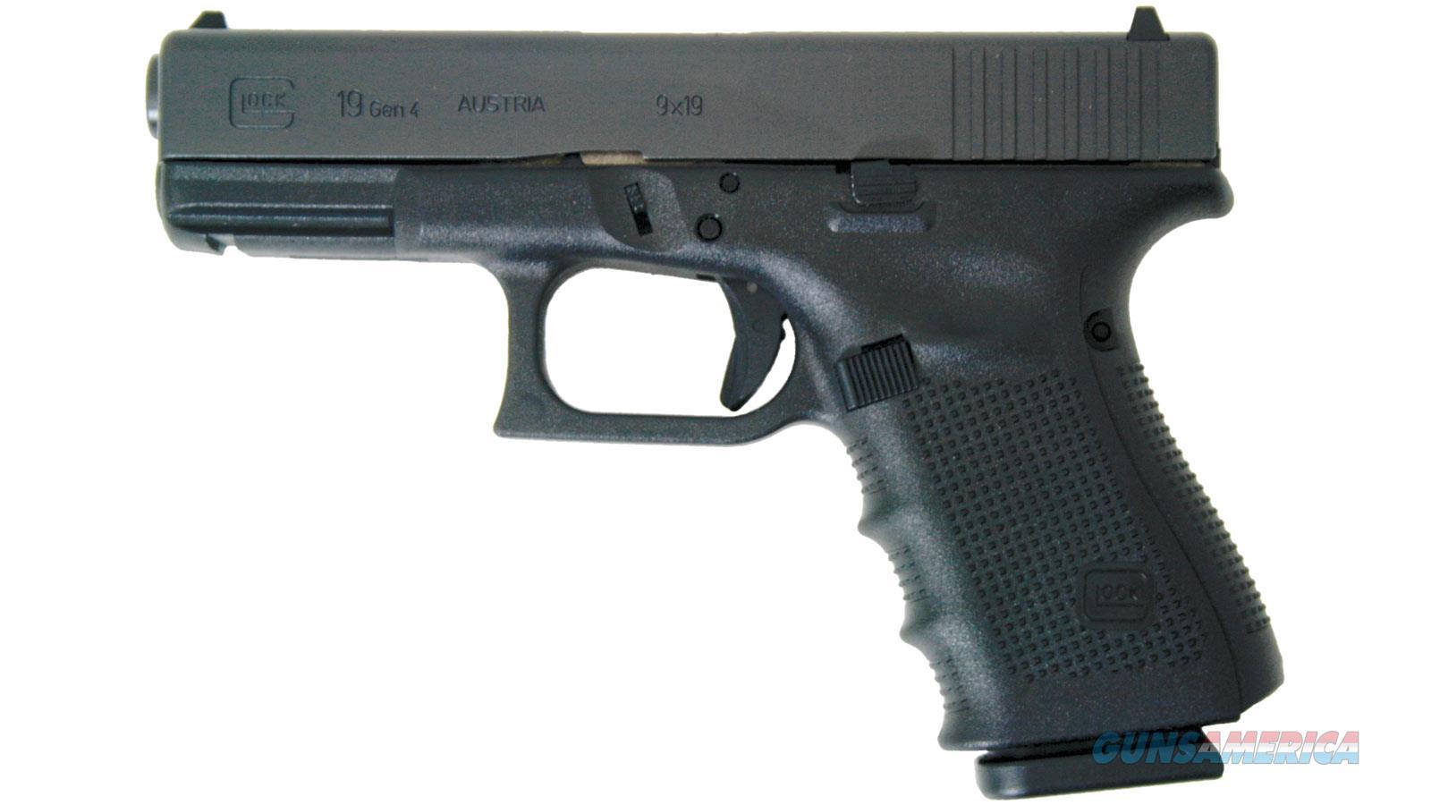 """Glock G19 Mos 9Mm 4.5"""" 10Rd PG1950201MOS  Guns > Pistols > G Misc Pistols"""