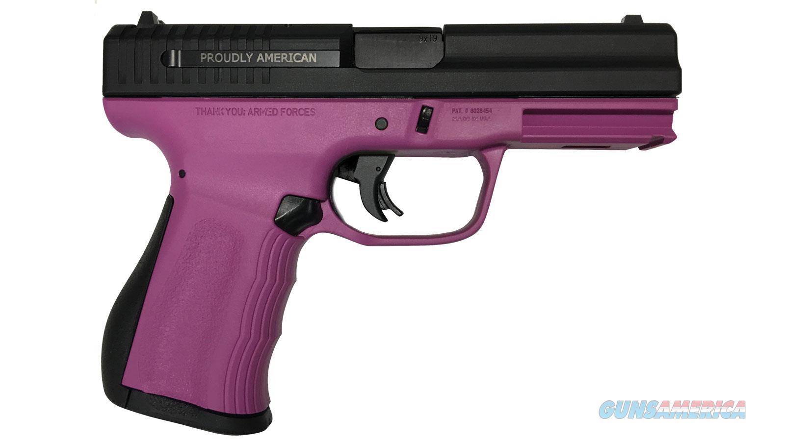 """Fmk Firearms Fmk 9Mm 4"""" Fat *Ny&Md* Purplebangexc10rd FMKG9C1G2PLNM  Guns > Pistols > F Misc Pistols"""