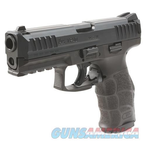 "Heckler & Koch Vp40 Striker Fired 40S&W 4.09"" Bbl 3-Dot Ns 3-10Rd Blk 700040LEL-A5  Guns > Pistols > H Misc Pistols"