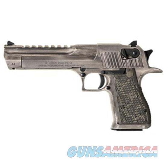 Magnum Research Desert Eagle 50Ae 6 White Matte Distressed DE50WMD  Guns > Pistols > MN Misc Pistols