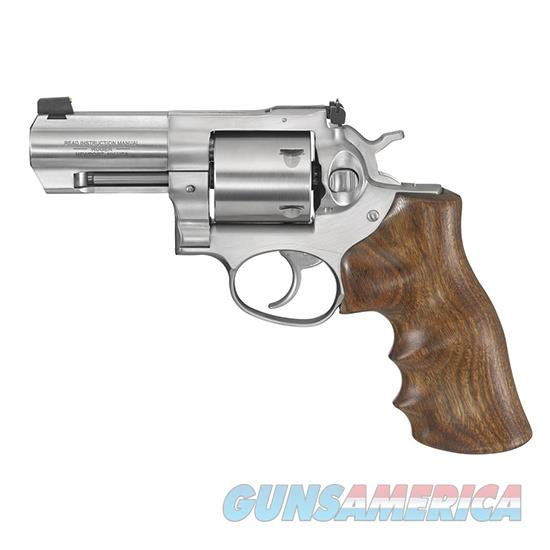 Ruger Rug Gp100 44Spl 3 Spike Ss 5Rd As Walnut 1767-RUG  Guns > Pistols > R Misc Pistols