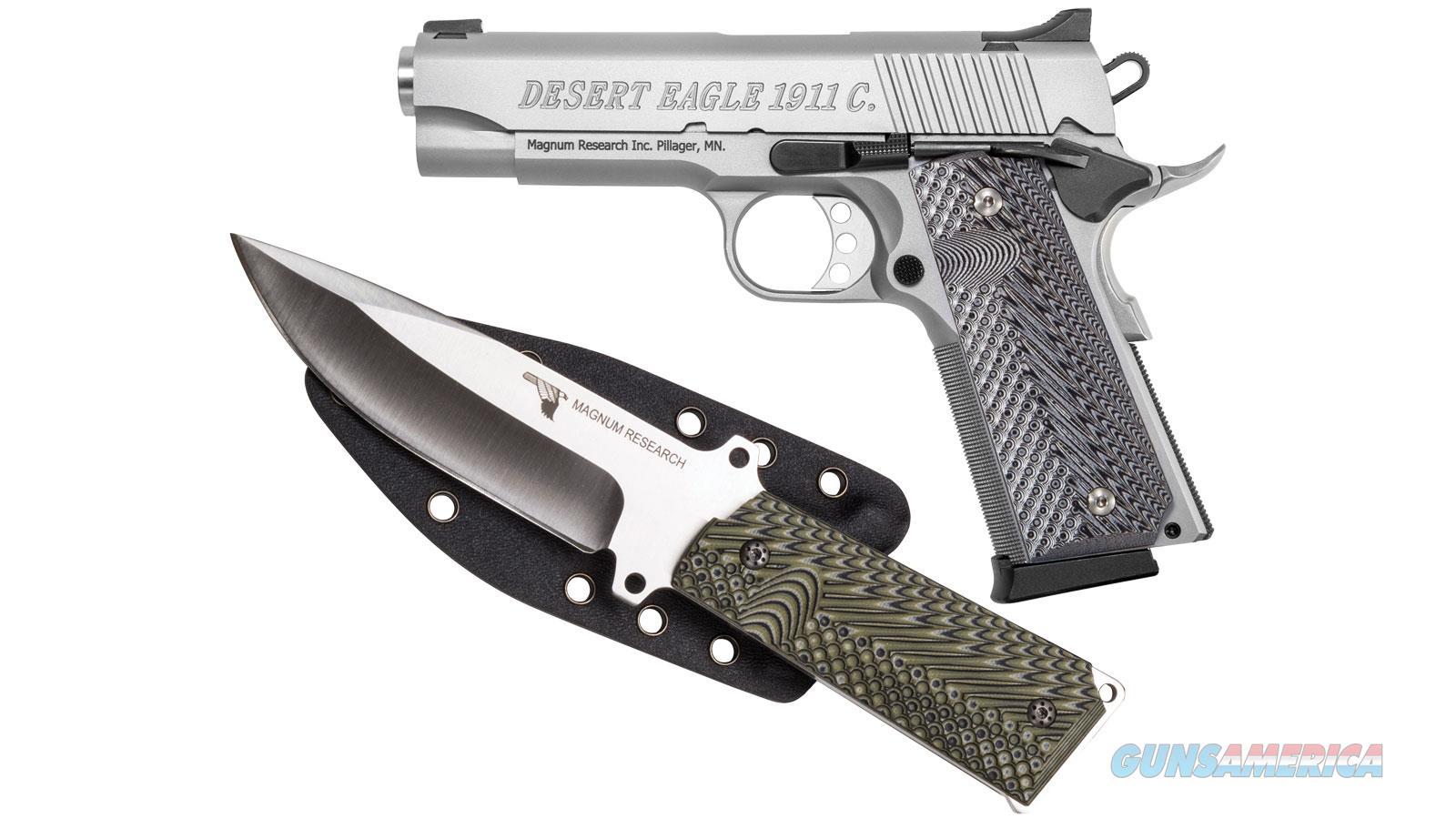 """Magnum Research De1911css-K 45Acp 4.3"""" 8Rd DE1911CSS-K  Guns > Pistols > Magnum Research Pistols"""