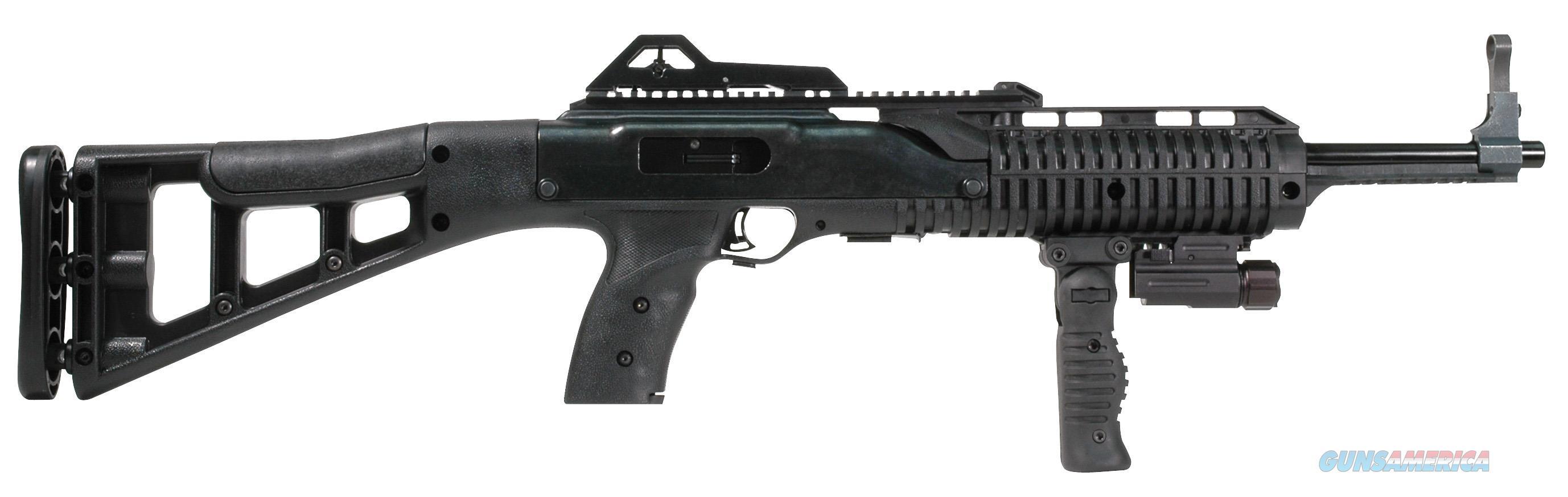 "Hi-Point 995Fgflts 995Ts Carbine Semi-Automatic 9Mm 16.5"" 10+1 With Light Polymer Skeleton Black Stk W/Forward Folding Grip Black 995TS FG FL  Guns > Rifles > H Misc Rifles"