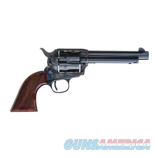 Cimarron Firearms Evil Roy Revolver 357 Mag, 5.5 In, 1 Piece Hand Checkered Wood Grp, 6 Rnd, Case Hardened Frame, Std Trgr ER4104  Guns > Pistols > C Misc Pistols