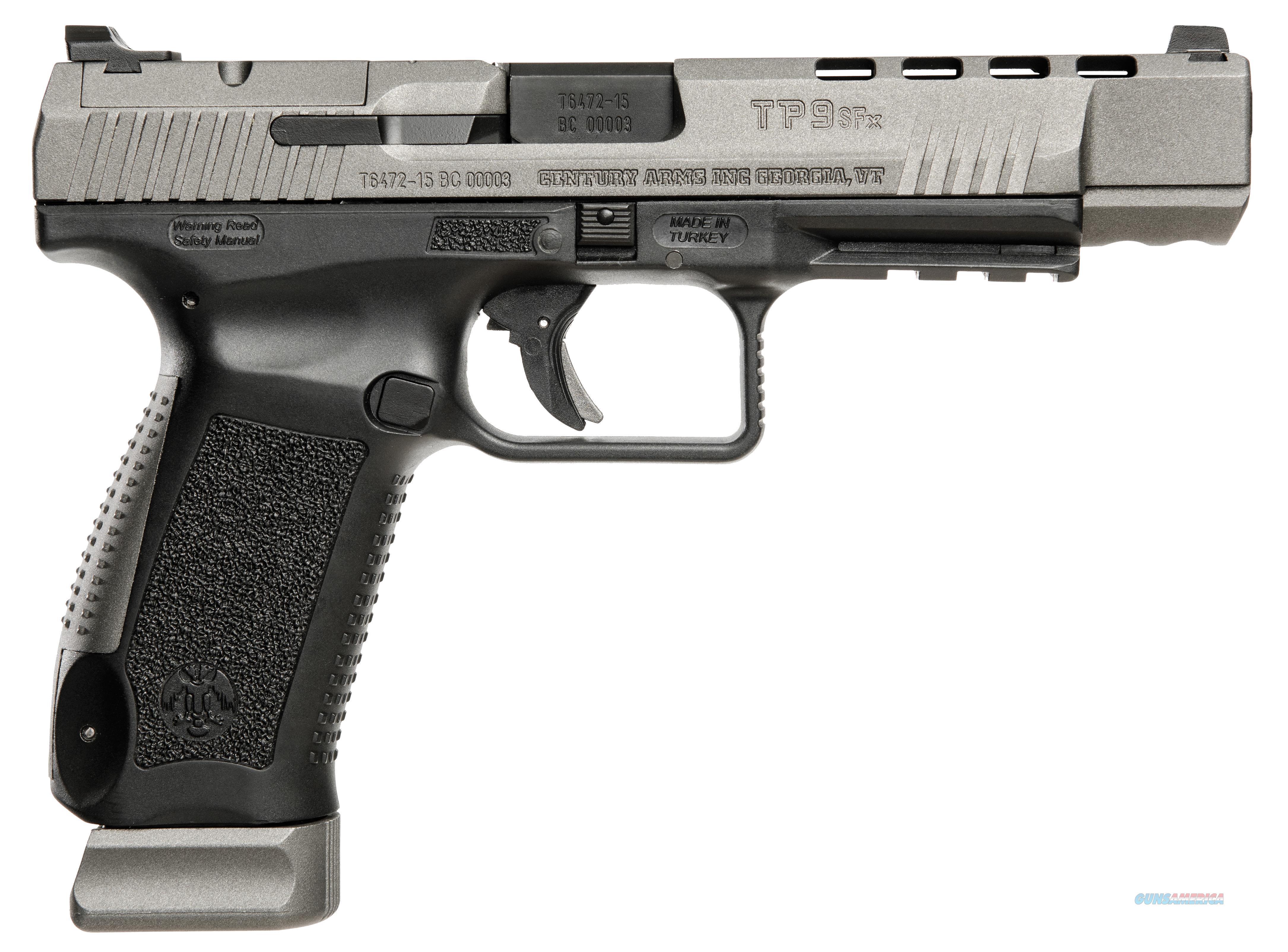 Canik   Tp9sfx 9Mm Gray Blk Warren Sights HG3774G-N  Guns > Pistols > Canik USA Pistols