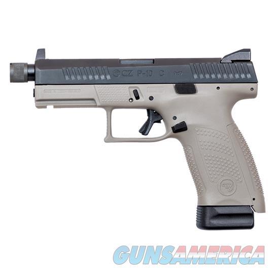 Czusa P-10 Compact 9Mm Suppressor Ready 10Rd 01519  Guns > Pistols > C Misc Pistols