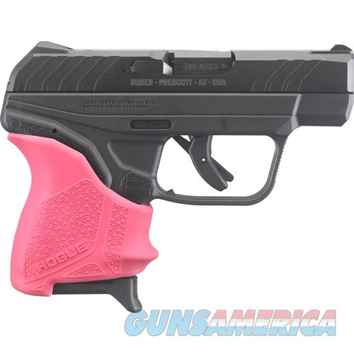 Talo Lcp Ii .380Acp 6-Shot Fs Blued Pink Hogue Slip On Grip RUG 3777  Guns > Pistols > TU Misc Pistols