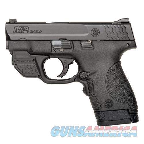 Smith & Wesson Shield M&P9 9Mm Luger Fs W/Green Laser W/Thumb Safety < 10141  Guns > Pistols > S Misc Pistols