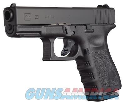 "GLOCK UI2350201 G23 COMPACT DOUBLE 40 SMITH & WESSON (S&W) 4"" 10+1 BLACK UI2350201  Guns > Pistols > Glock Pistols > 23"