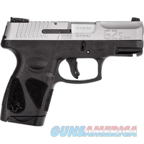 Taurus G2s 9Mm Blk/Ss 3.2 2 - 6Rd Mag 1-G2S939  Guns > Pistols > TU Misc Pistols