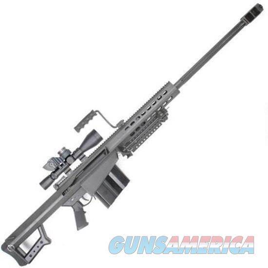 Barrett 82A1 50Bmg 29 Blk Sys W/ Scope 10Rd 12412  Guns > Rifles > Barrett Rifles