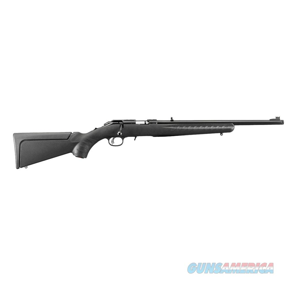 "Ruger 8314 American Rimfire Compact Bolt 17 Hornady Magnum Rimfire (Hmr) 18"" Tb 9+1 Synthetic Black Stk Blued 8314  Guns > Rifles > R Misc Rifles"