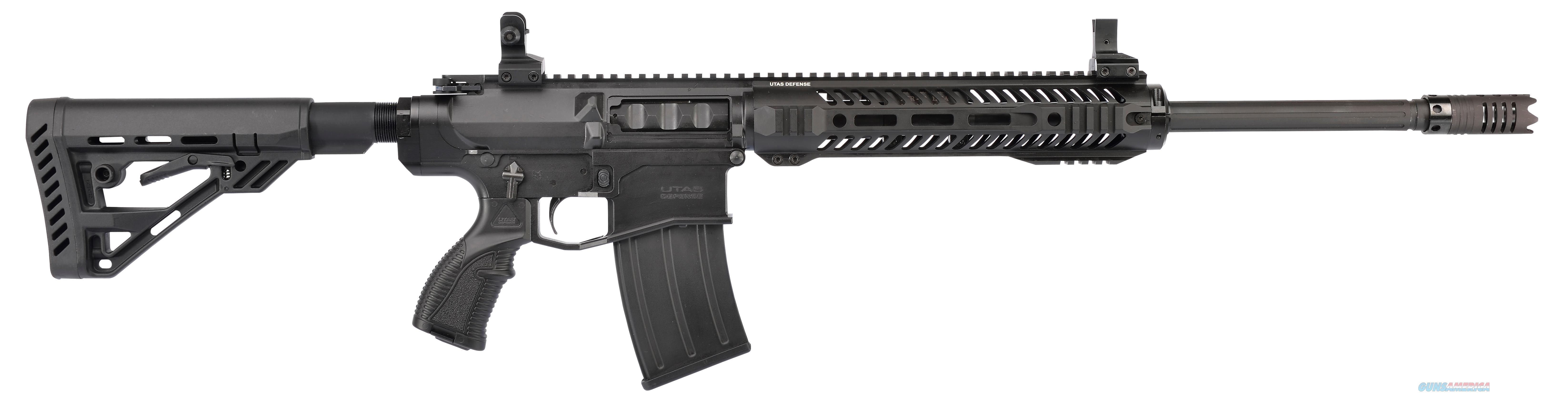 "Utas-Usa Xtr12bm1 Xtr-12 Semi-Automatic 12 Gauge 20.8"" 3"" 5+1 5-Position Synthetic W/Pistol Grip Black Black Cerakote XTR12BM1  Guns > Shotguns > TU Misc Shotguns"