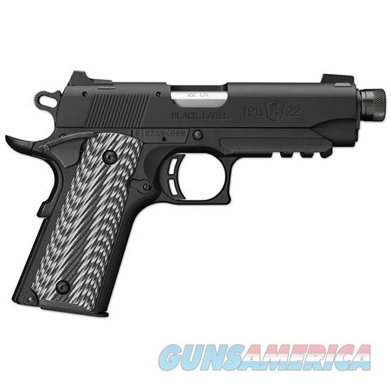 Browning 1911-22 22Lr Blk Label Camper Sr Rl S 051821490  Guns > Pistols > B Misc Pistols