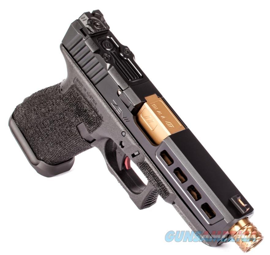 Zev G19 G3 Blk 9Mm Drgnfly Tb GUN3GZ19DFLY  Guns > Rifles > XYZ Misc Rifles