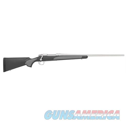 """Remington Firearms 27273 700 Sps Stainless Bolt 300 Winchester Magnum 26"""" 3+1 Synthetic Black/Gray Stk Stainless Steel 27273  Guns > Rifles > R Misc Rifles"""