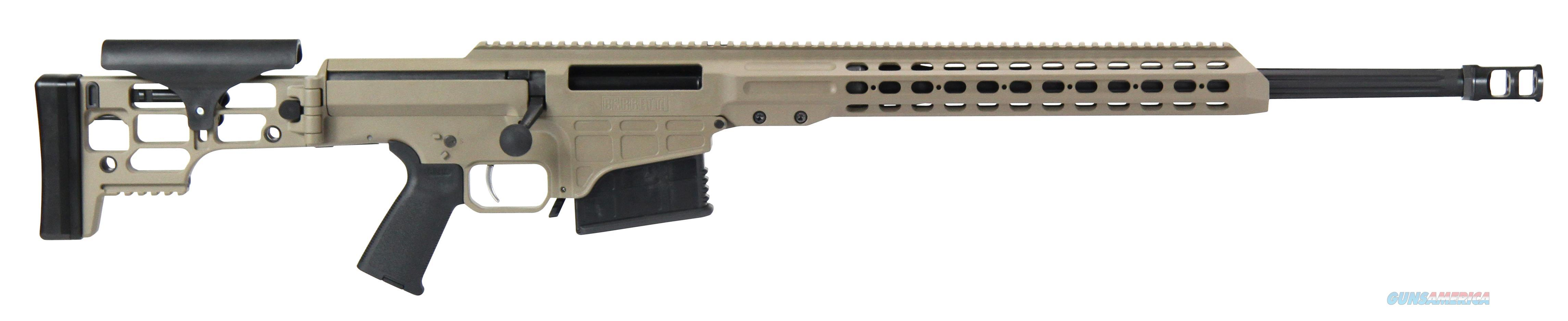 "Barrett 15470 Mrad Bolt 7Mm Remington Magnum 24"" 10+1 Folding Flat Dark Earth Stk Fde/Blk 15470  Guns > Rifles > Barrett Rifles"