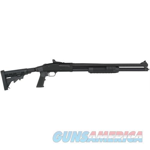 "Mossberg 50589 500 Pump 12 Gauge 20"" 3"" 7+1 6-Position Adjustable Synthetic W/Pistol Grip Matte Blued 50589  Guns > Shotguns > MN Misc Shotguns"