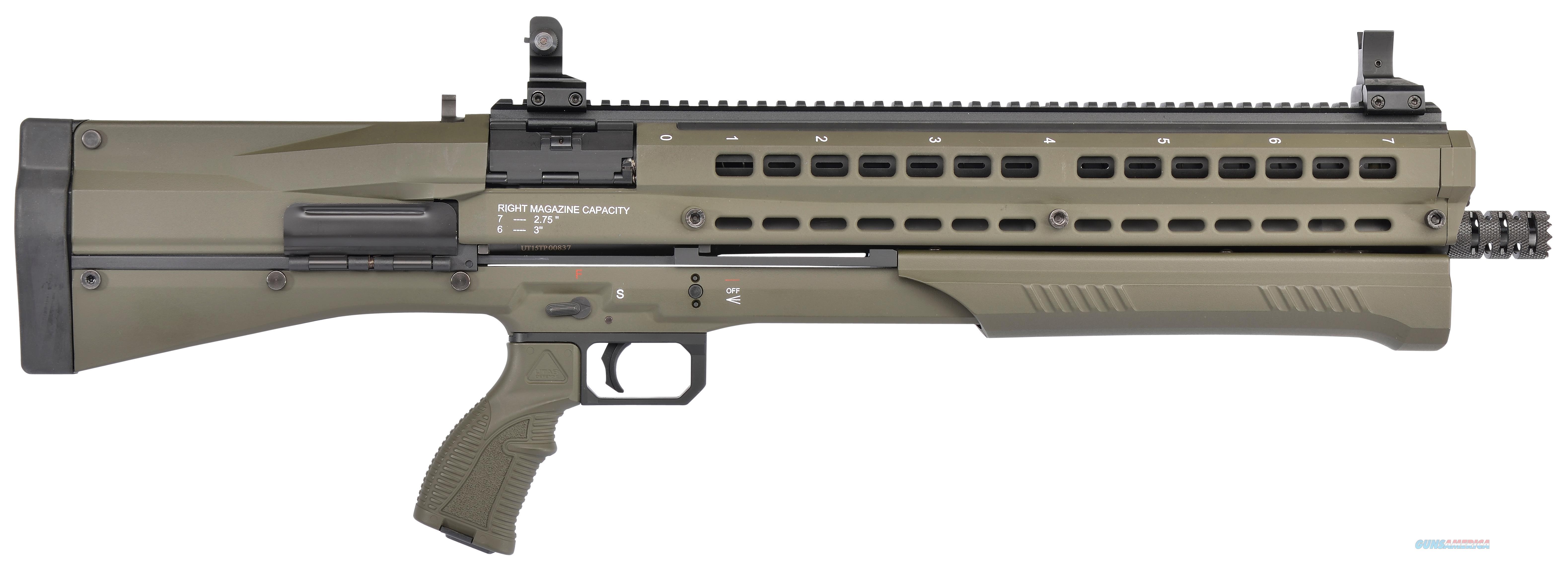 Utas-Usa Ps1od1 Uts-15 Pump 12 Gauge 14+1  Od Green Cerakote PS1OD1  Guns > Shotguns > TU Misc Shotguns