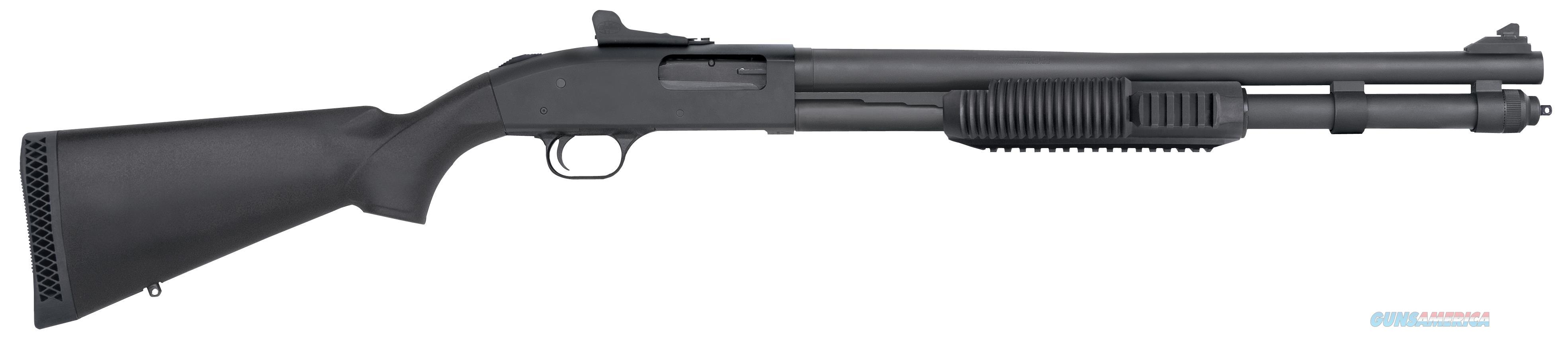 "Mossberg 50670 590 Pump 12 Gauge 20"" 3"" 8+1 Synthetic Blk Matte Blued 50670  Guns > Shotguns > MN Misc Shotguns"