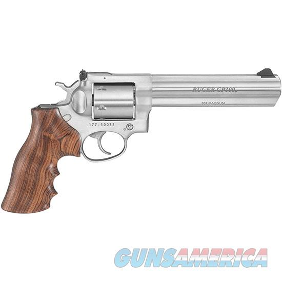 TALO TALO GP100 357MAG 6 SS UNFLUTED CYL & HOGUE RUG 1759  Guns > Pistols > Ruger Double Action Revolver > GP100
