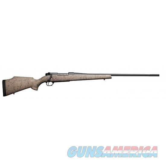 "Weatherby Mutm257wr6o Mark V Ultra Lightweight Bolt 257 Weatherby Magnum 26"" 3+1 Synthetic Tan W/Blk Spiderweb Stk MUTM257WR6O  Guns > Rifles > W Misc Rifles"