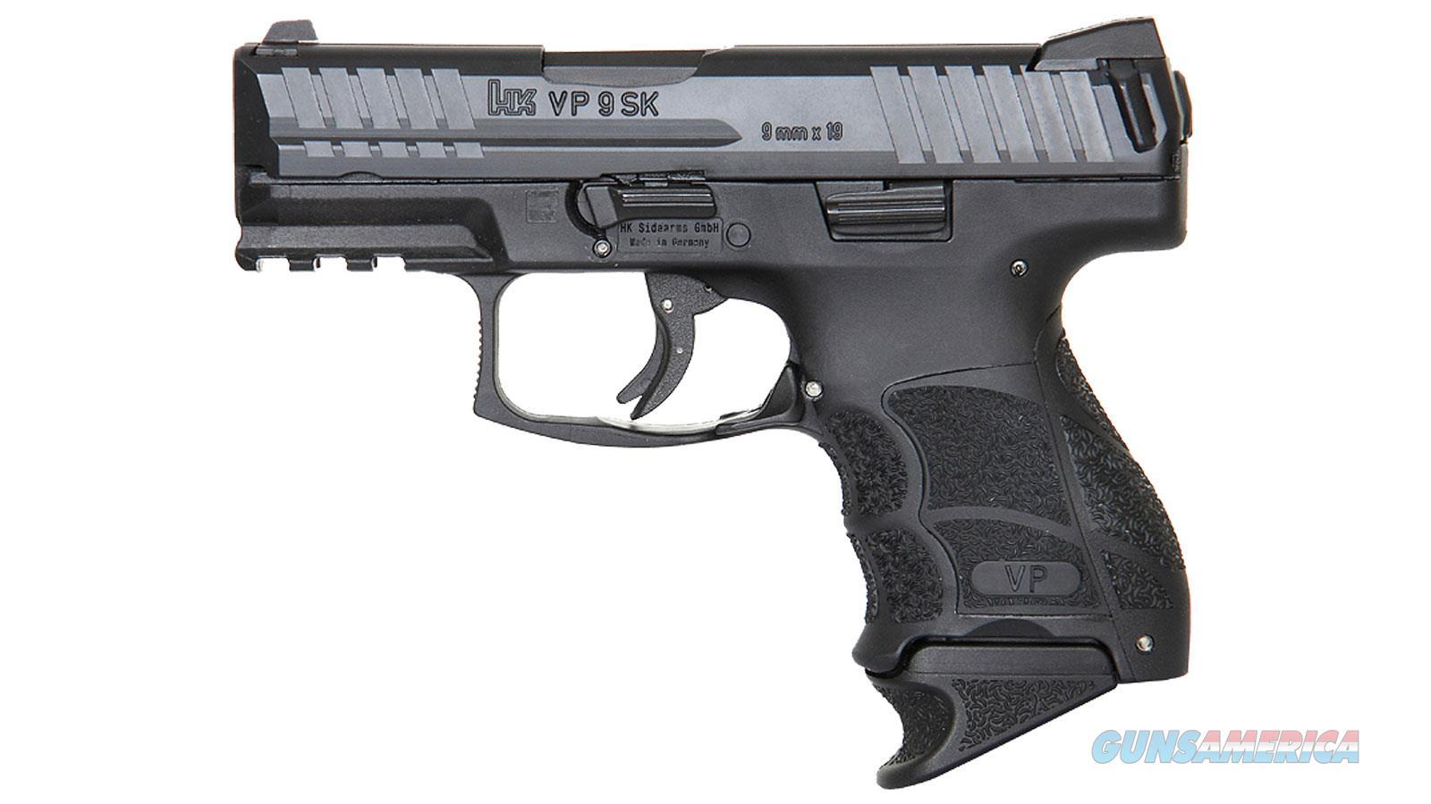 """Heckler & Koch Vp9sk Striker Fired 9Mm 3.39"""" Bbl 3-Dot Fs 2-10Rd Blk 700009K-A5  Guns > Pistols > H Misc Pistols"""