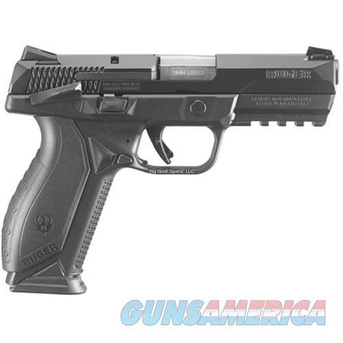 "Ruger American Semi-Auto Pistol, 9Mm, 4.2"" Bbl, Module Grips, 10-Round, 3-Dot Sights, Ma Compliant 8661  Guns > Pistols > R Misc Pistols"