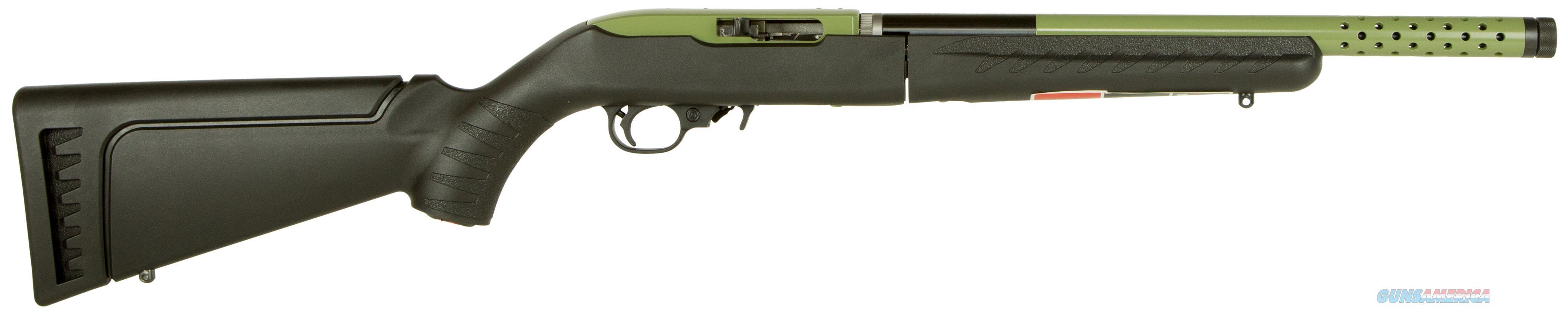 "Ruger 21155 10/22 Takedown Lite Semi-Automatic 22 Long Rifle (Lr) 16.1"" 10+1 Synthetic Black Stk Green 21155  Guns > Rifles > R Misc Rifles"